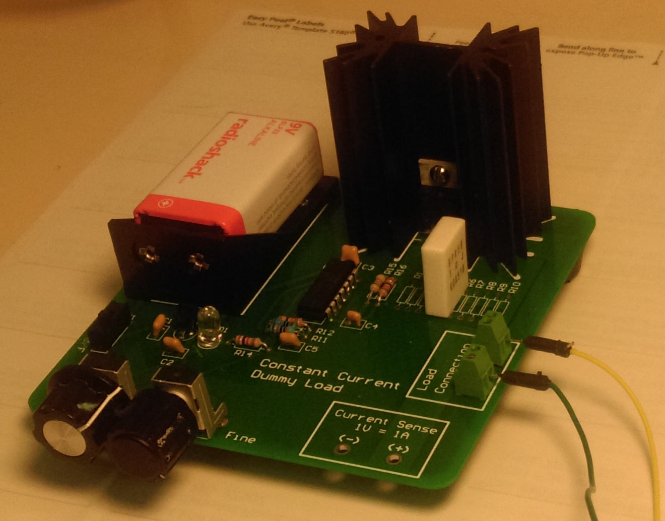 July 2015 Triembed Dummy Load Circuit Constant Current Schema This Is A Made From One Of Shane Trents Pcbs Like Those Given Away At Recent Meeting As Mentioned On The Email List