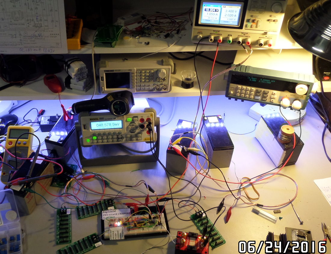 Battery charger development