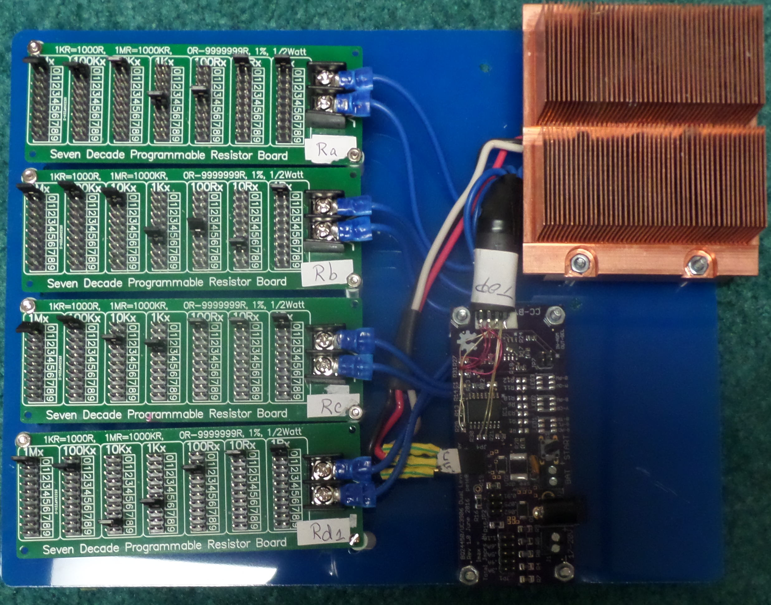 bq24450 charger test board